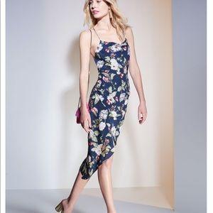 Alice + Oliva floral midi Dress